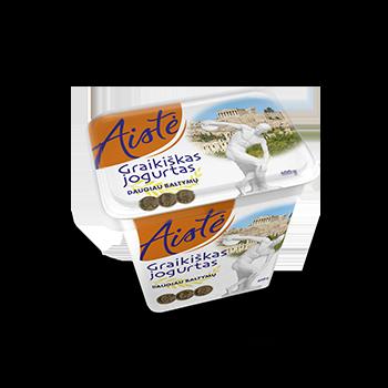 Graikiškas jogurtas be priedų AISTĖ, 400 g